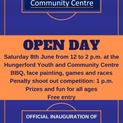 Open Day Poster 8th June 2019